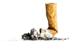 Zigarettenstummel: Raucherentwöhnung